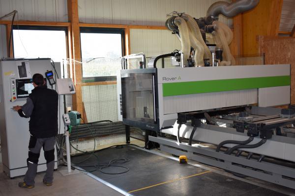 03 - Centre d'usinage à contrôle numérique Rover A